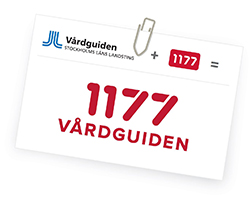 1177 och Vårdguiden går ihop till 1177 Vårdguiden